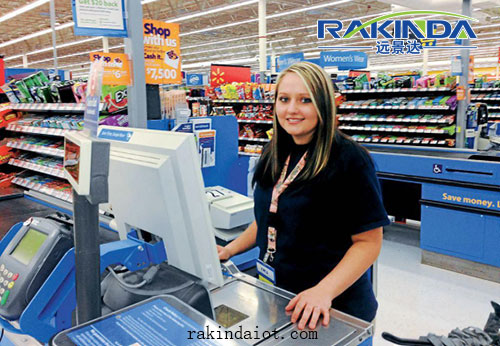 Omnidirectional Barcode Scanner for Supermarket Payment