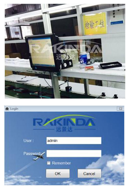 Barcode Scanner and Barcode Rejection System for Assembly Line
